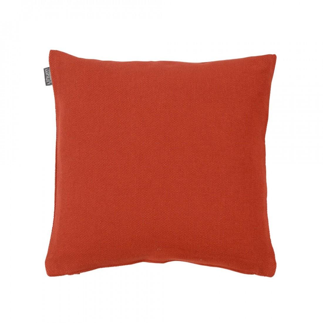Home Kussenhoes Linum Pepper donker oranje 40x40cm
