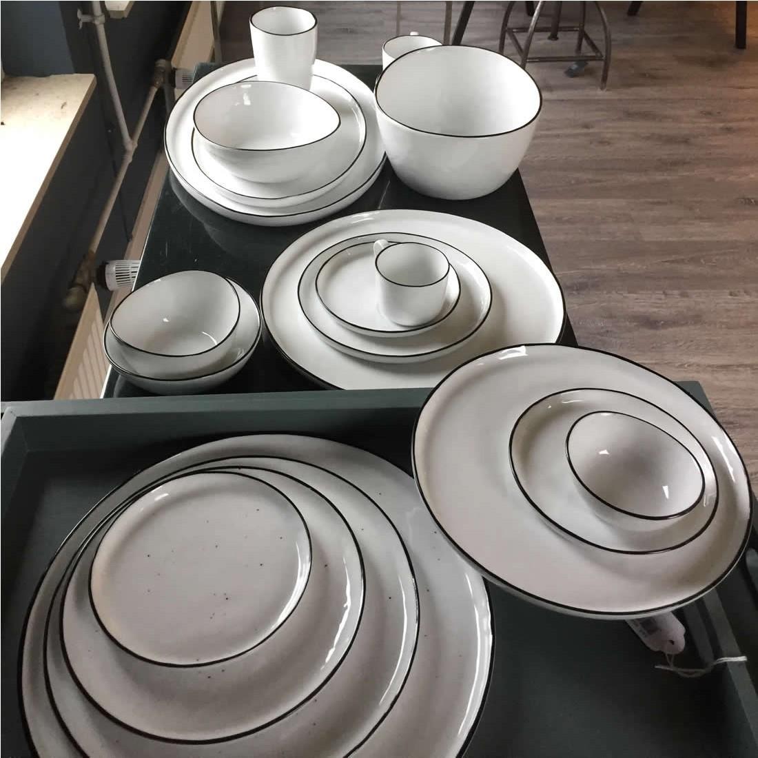 broste salt dessertbordje met stippen 14cm. Black Bedroom Furniture Sets. Home Design Ideas