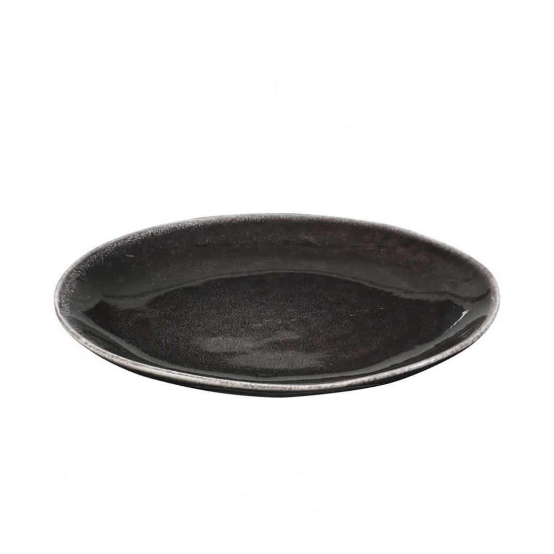 broste nordic coal ontbijtbord 20cm. Black Bedroom Furniture Sets. Home Design Ideas