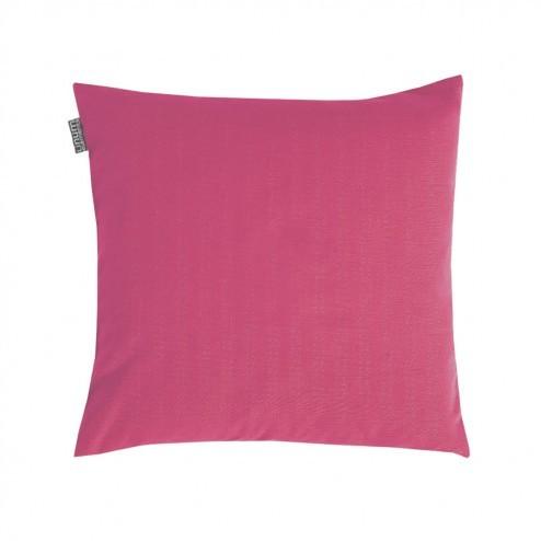 Linum kussenhoes Annabell fuchsia roze, 40x40cm