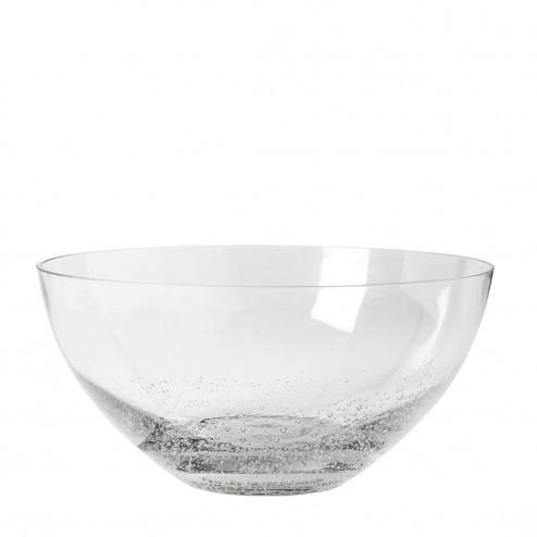 Broste Copenhagen Bubble glazen schaal, Ø25cm