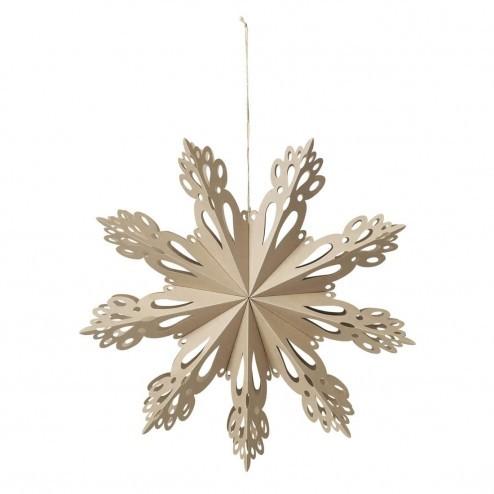 Broste Copenhagen grote kerstster Snowflake, Ø46cm