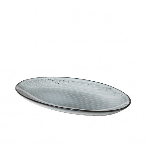 Broste Nordic Sea ovaal bord, klein (22cm)