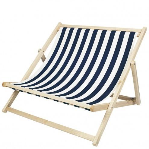 Broste dubbele strandstoel 'Rest'