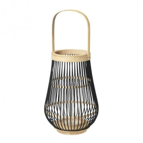Broste Copenhagen lantaarn Elba, bamboe, 36cm