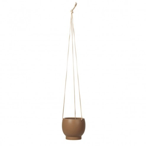 Broste hangende bloempot 'Maximus', Ø12cm, indian tan