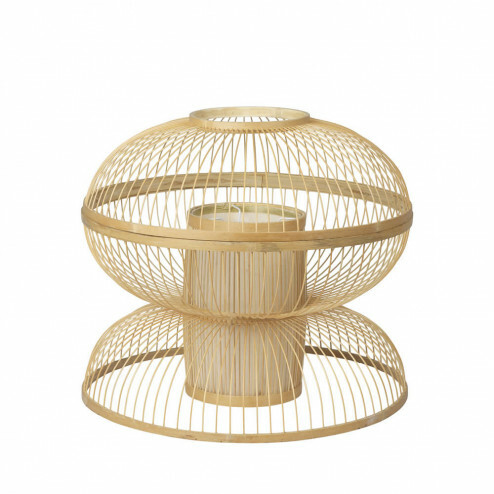 Broste lampenkap Sabbie van bamboe, Ø42cm
