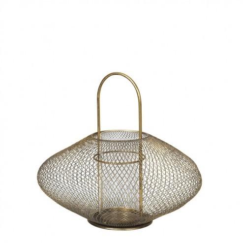 Broste lantaarn Bodis, metaal en glas, Ø37.5cm