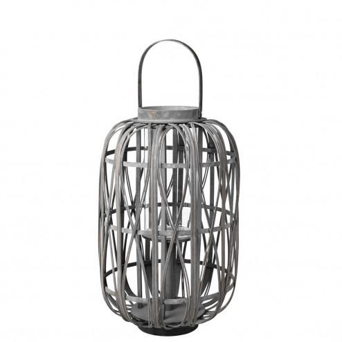 Broste lantaarn Leta van hout en bamboe