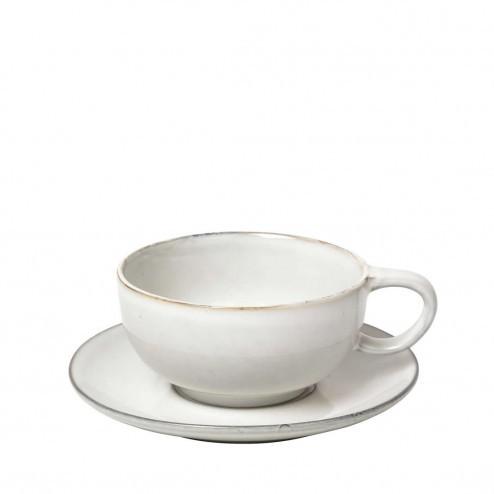 Broste Nordic Sand cappuccino kop en schotel