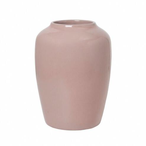 Broste Copenhagen vaas CPH Curve in roze, 24.5cm