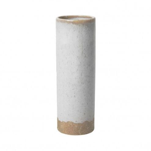 Broste siervaas Wide, beige, 25cm