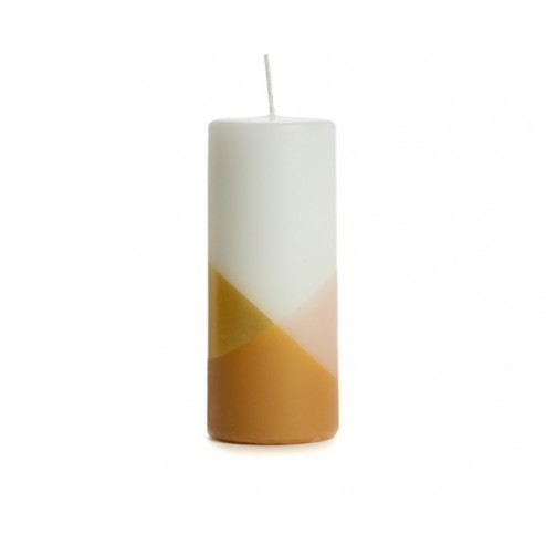 Rustik Lys rustieke kaars Cross, 6x15cm, blossom