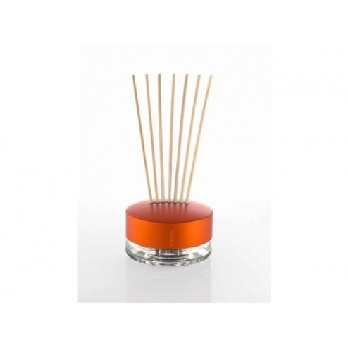 Geurverspreider orange, aluminium met glas
