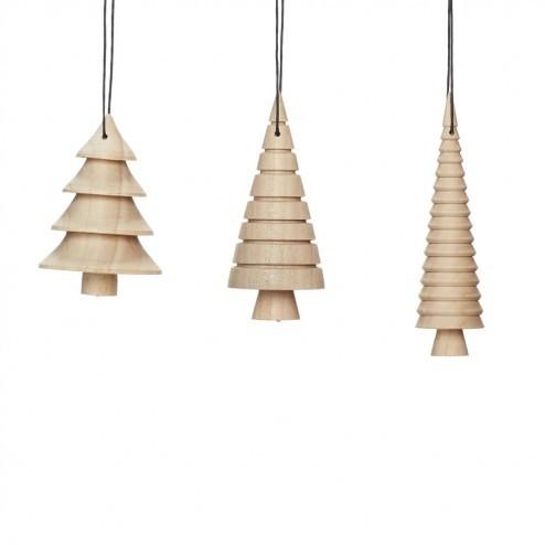 Hubsch grote papieren kerstballen, set van 2