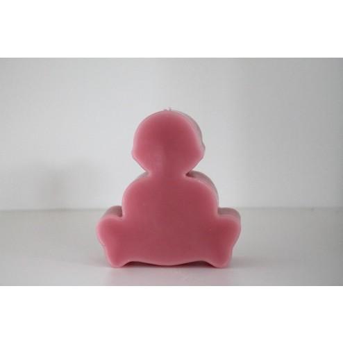 Sierkaars Baby roze