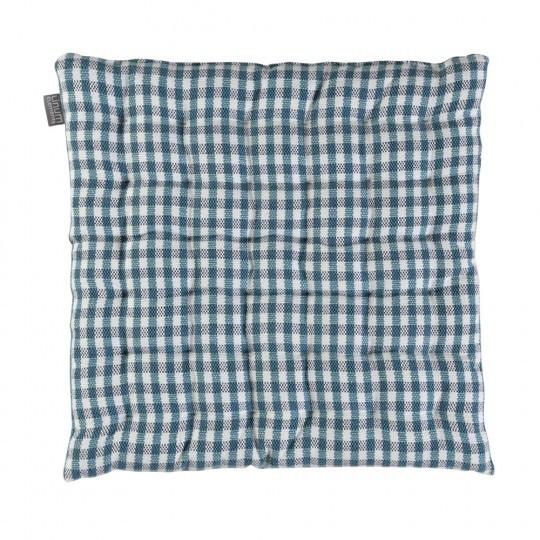 kussenhoes linum pepper grijs blauw 40x40cm. Black Bedroom Furniture Sets. Home Design Ideas