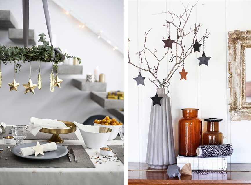 Scandinavische kersttrends 2015 homezy blog - Versier een trap ...