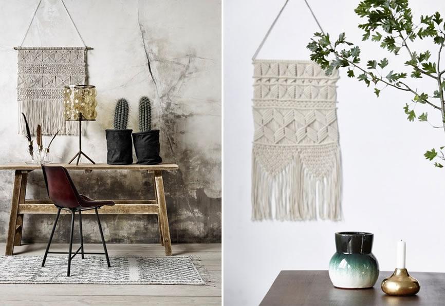 Wandkleed stijlvolle muurdecoratie homezy blog - Volwassen slaapkamer idee ...