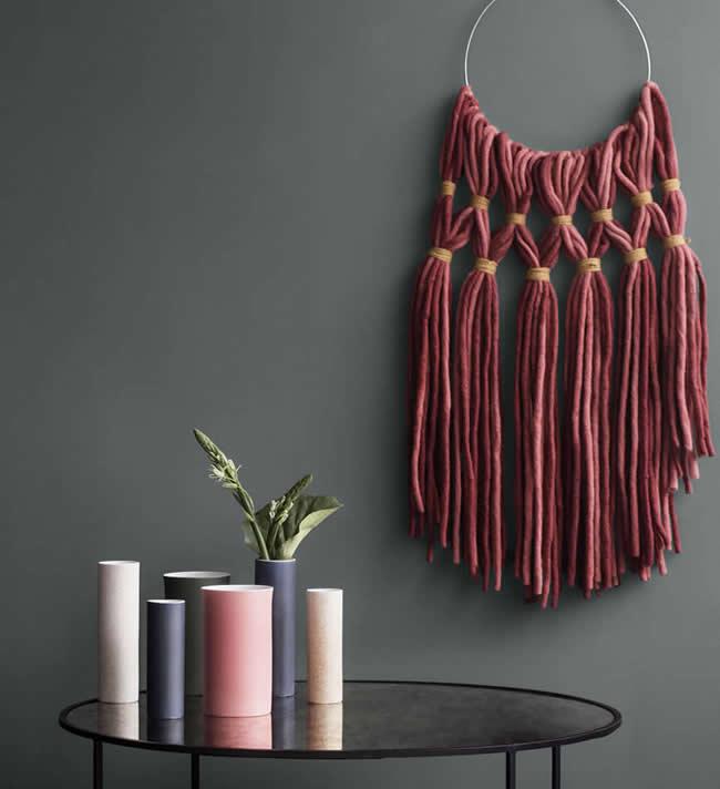 Wandkleden in Nordic stijl