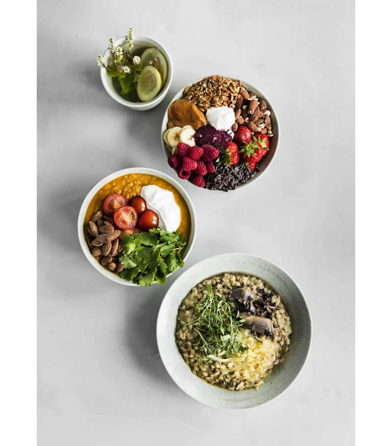 Broste Copenhagen Grod servies met eten
