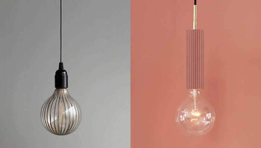 LED peertje aan een hanglamp snoer